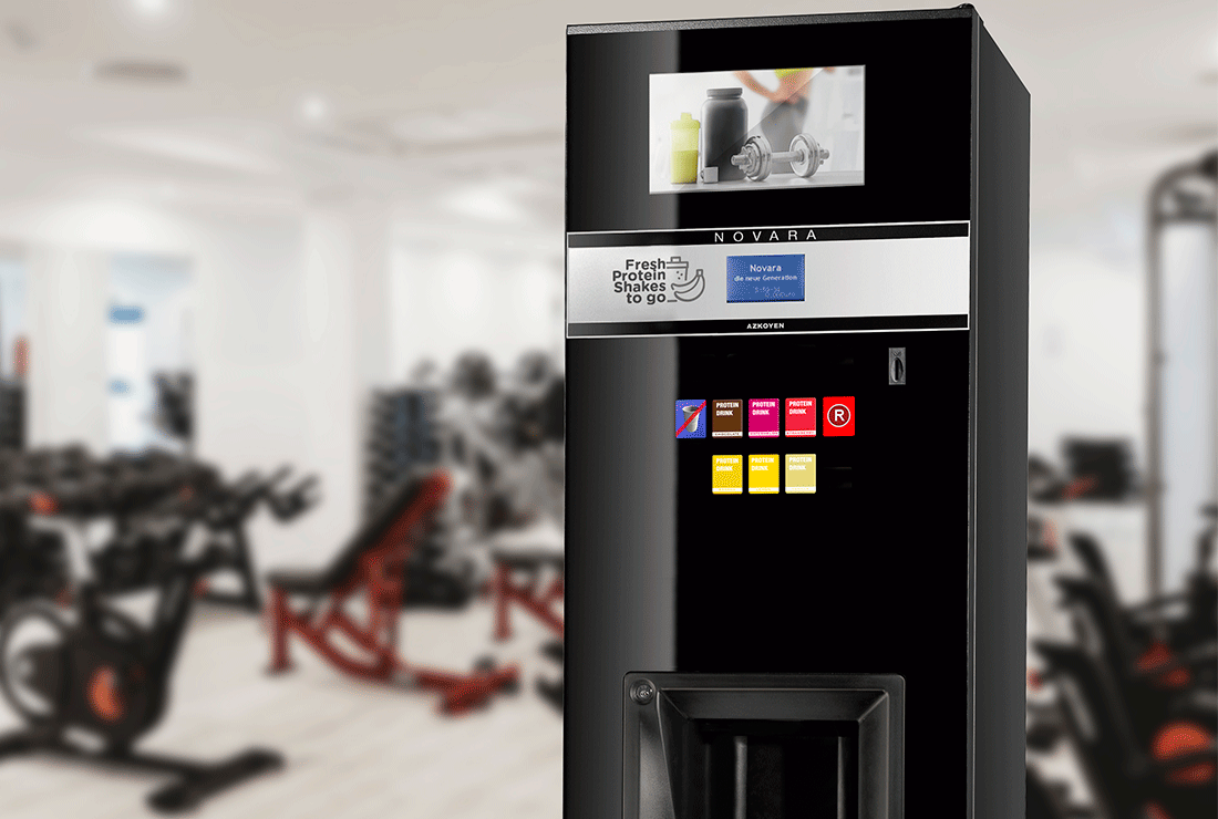 Azkoyen joins forces with the German company, Trugge, to bring the most innovative vending services to European gyms